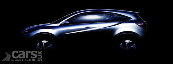 Tease photo of Honda Urban SUV Concept
