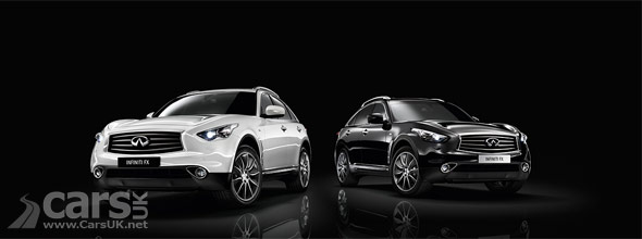 Infiniti FX Black & White Edition