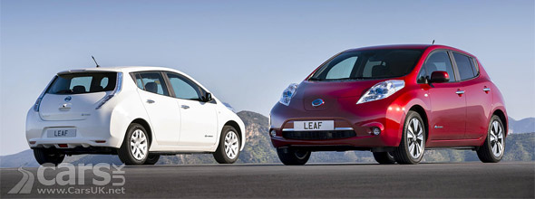 Photo New 2013 Nissan LEAF UK
