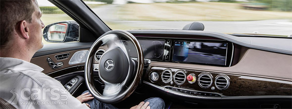 Photo Mercedes S-Class Intelligent Drive