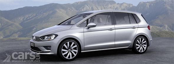 Volkswagen Golf Sportsvan Concept Previews 2014 Golf Plus Cars Uk