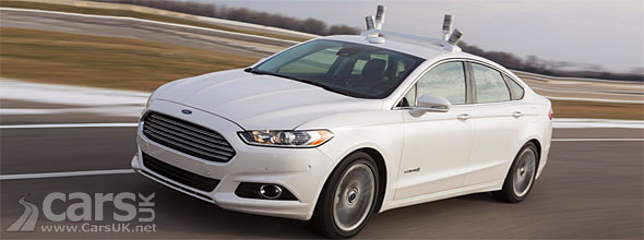 Photo Ford Fusion autonomous driving