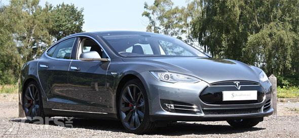 Tesla model s second hand