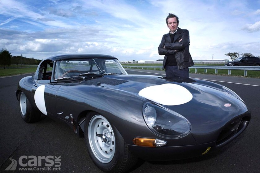 Mark evans documents the new Jaguar E-Type Lightweights for Channel 4