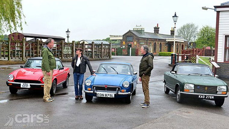 top gear tonight the last ever top gear with clarkson hammond may cars uk. Black Bedroom Furniture Sets. Home Design Ideas
