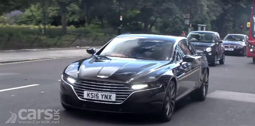 First New Aston Martin Lagonda Taraf On Uk Roads Video Cars Uk