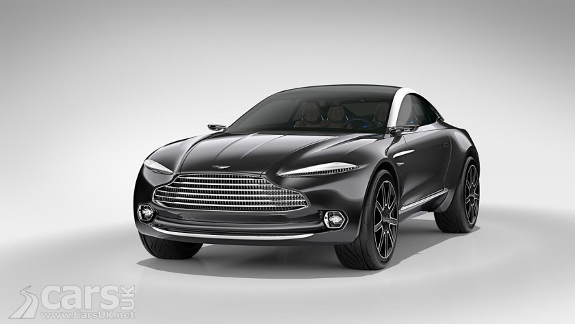 Photo Aston Martin DBX Crossover SUV