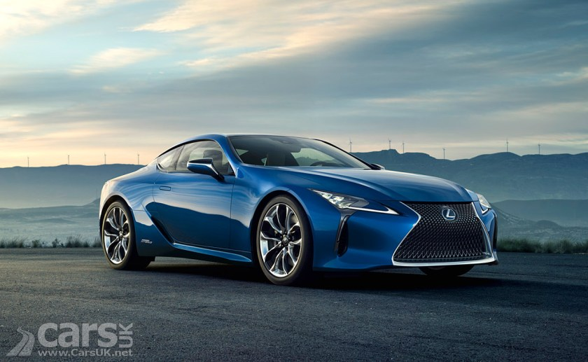 Photo Lexus LC 500h Hybrid