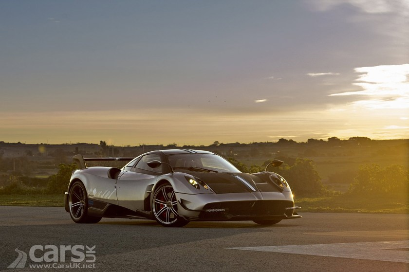 Pagani Huayra BC - more power, less weight and a BIG price tag ...