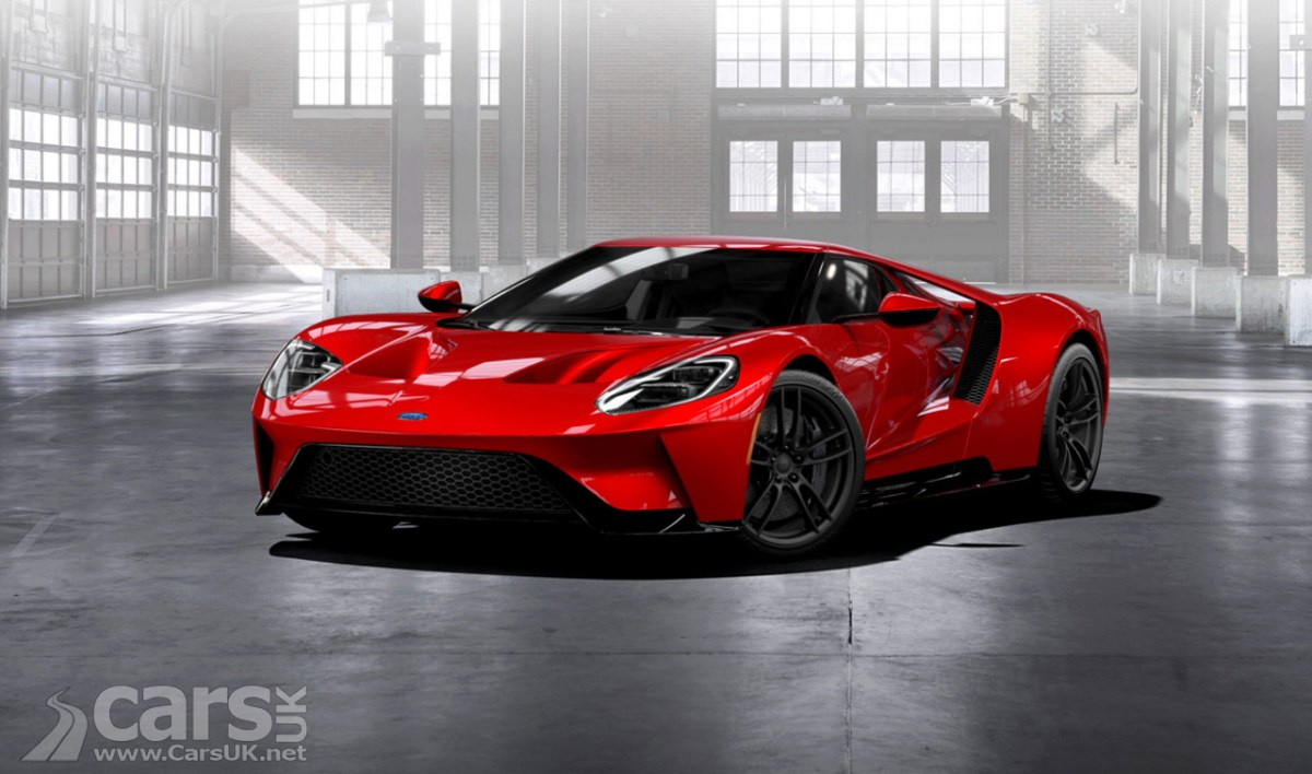 Ford Gt Gets   Order Applications Just  Cars Available