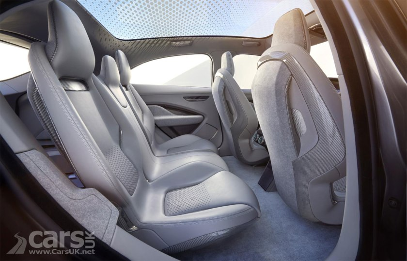 Photo Jaguar i-PACE electric Crossover Concept Interior
