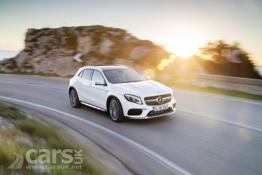 Photo 2017 Mercedes GLA facelift