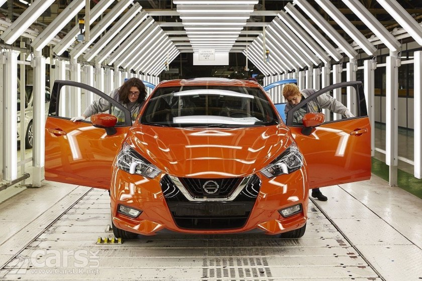 Photo 2017 Nissan Micra production starts