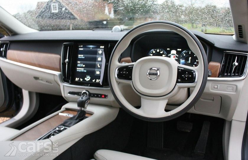 Photo 2017 Volvo V90 D5 PowerPulse AWD Inscription Interior