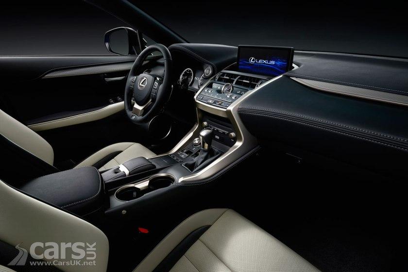Photo 2018 Lexus NX SUV Facelift Interior