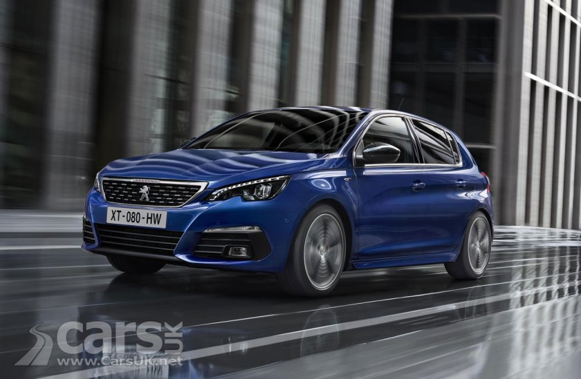 Peugeot 308 gets updated with new styling and new engines | Cars UK