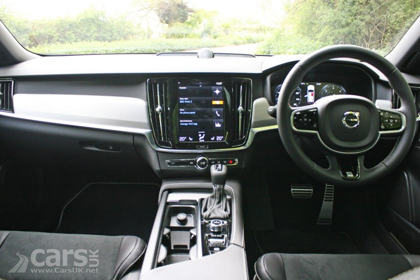 Photo 2017 Volvo V90 D5 R-Design Interior