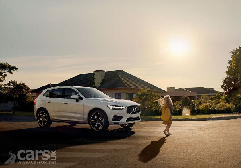 Photo New Volvo XC60 film demonstrates the human side of Volvo's safety technology