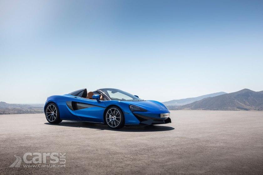 Photo McLaren 570S Spider