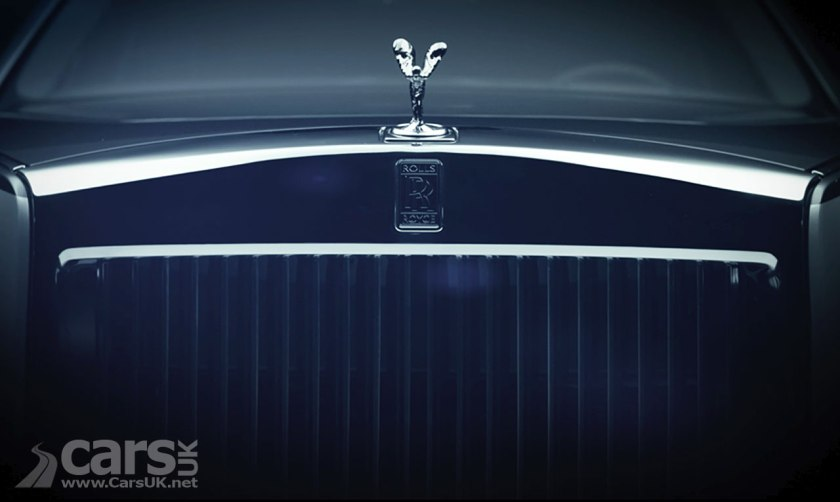 Photo Rolls Royce Phantom VIII tease