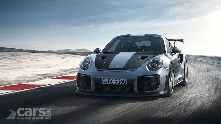 Photo New Porsche 911 GT2 RS OFFICIALLY revealed