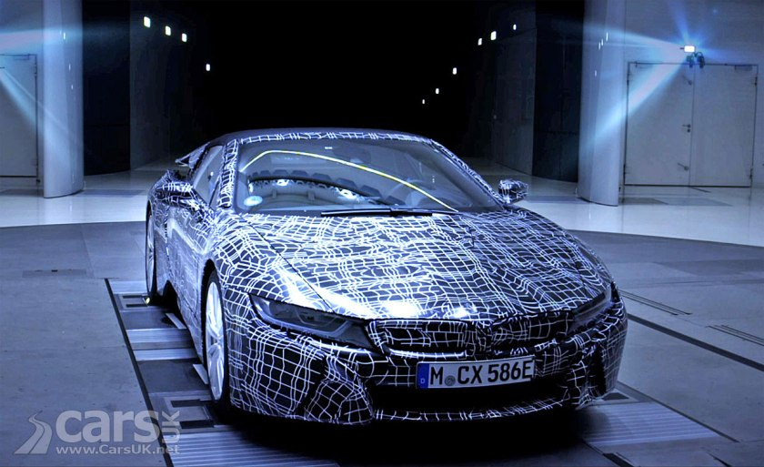 Bmw I8 Roadster Teased On Video Ahead Of A Frankfurt Launch For The