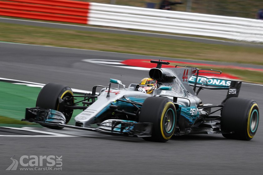 Lewis Hamilton's barnstorming qualifying lap puts him on POLE for the British Grand Prix
