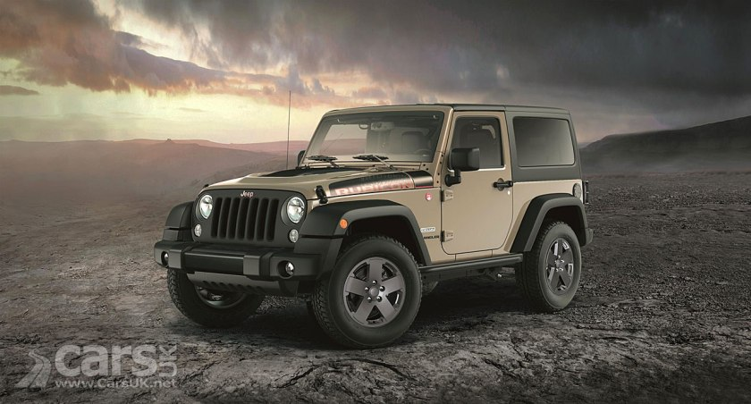 Jeep Wrangler Rubicon Recon Special Edition goes on sale in the UK