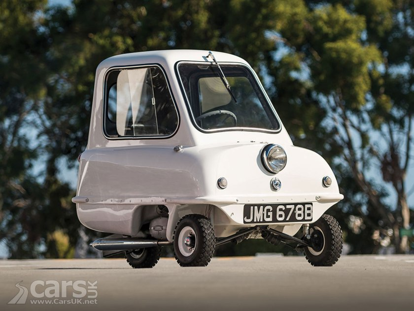 Peel P50 up for auction - will it beat the £135,000 paid for a P50 last year?