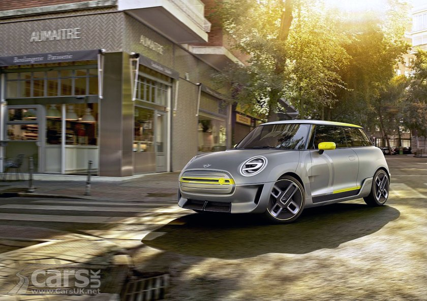 MINI Electric Concept is a first look at MINI's electric future