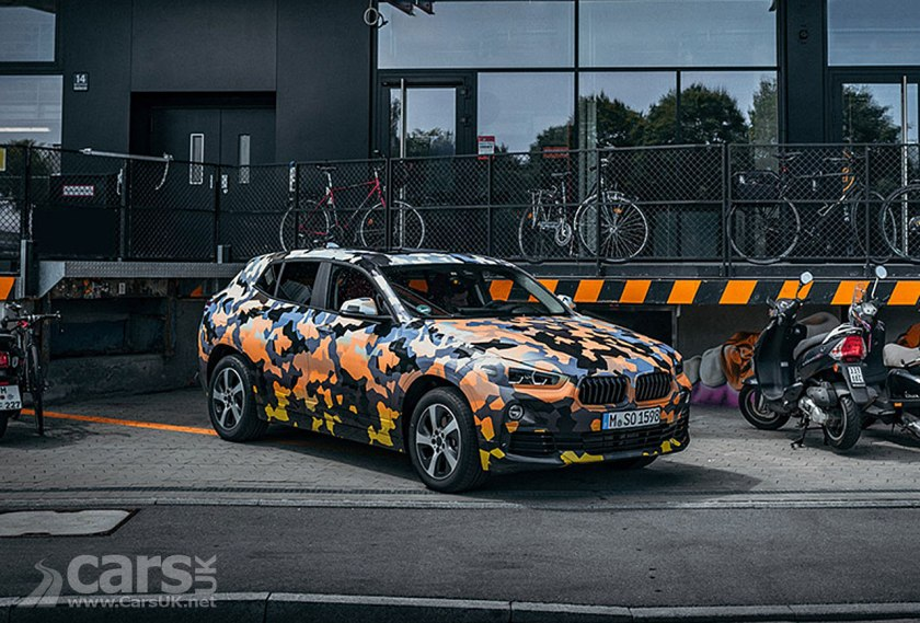BMW X2 'Lifestyle' SUV revealed in first OFFICIAL photos
