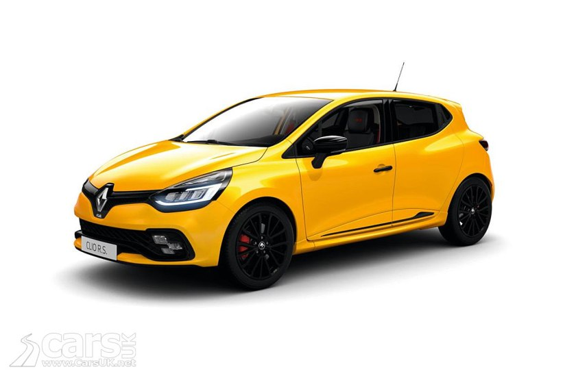 Clio Renault Sport 200 - and the 220 Trophy - get new Black Editions