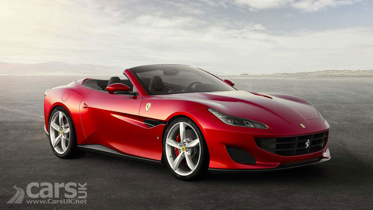 Ferrari Portofino is, in Ferrari terms, an