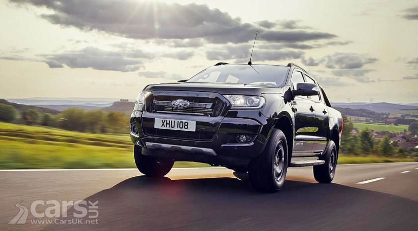 ford ranger black edition takes ford 39 s pick up to the dark. Black Bedroom Furniture Sets. Home Design Ideas