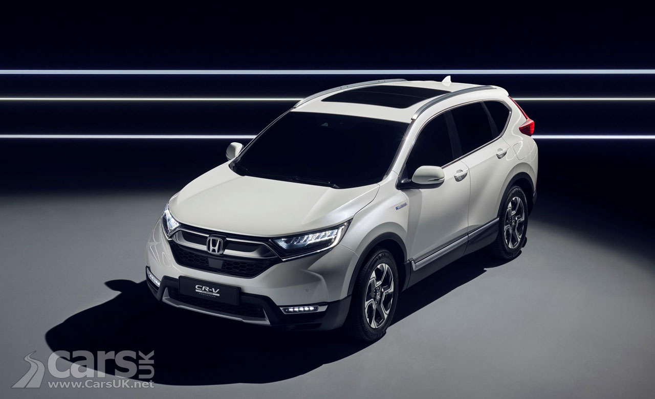 New 2018 Honda CR-V previewed by hybrid prototype