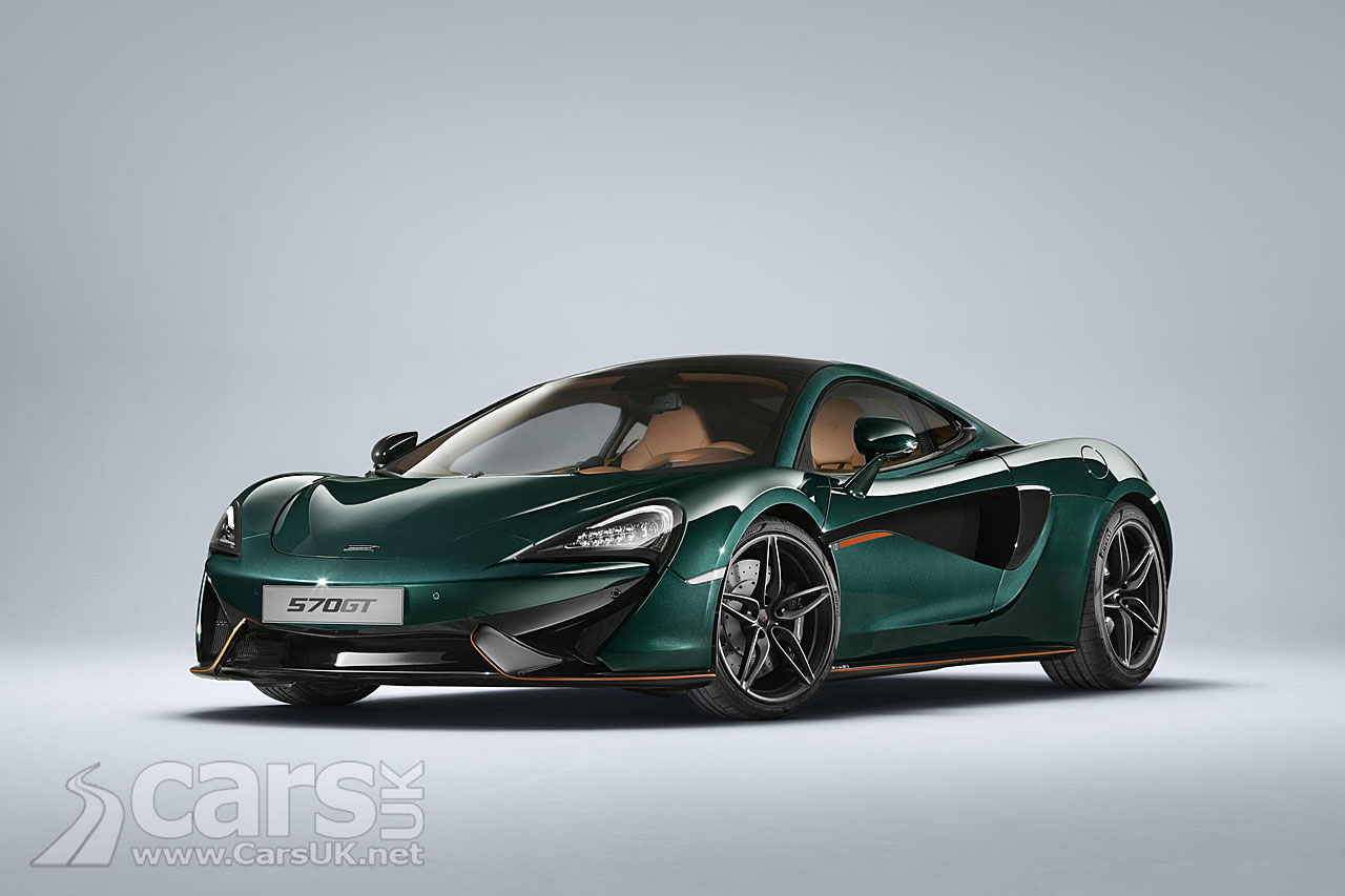 McLaren builds bespoke 570GTs to match F1 XP GT 'Longtail'