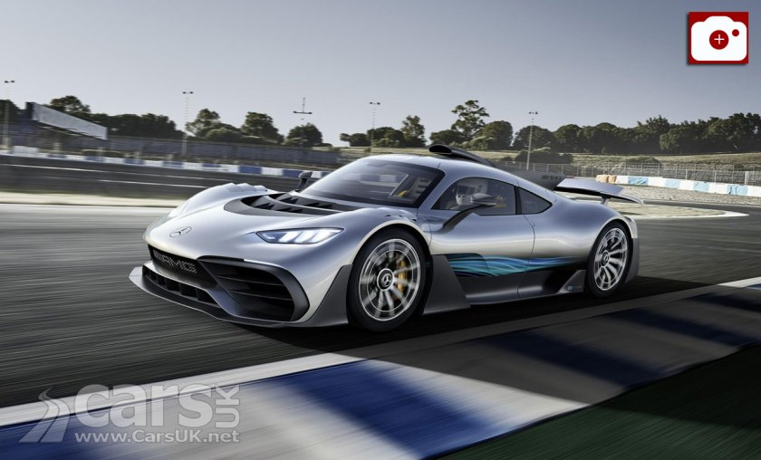 Mercedes-AMG Project ONE has 1,000 FORMULA ONE Horses