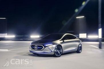 Mercedes-Benz Concept EQA Photo