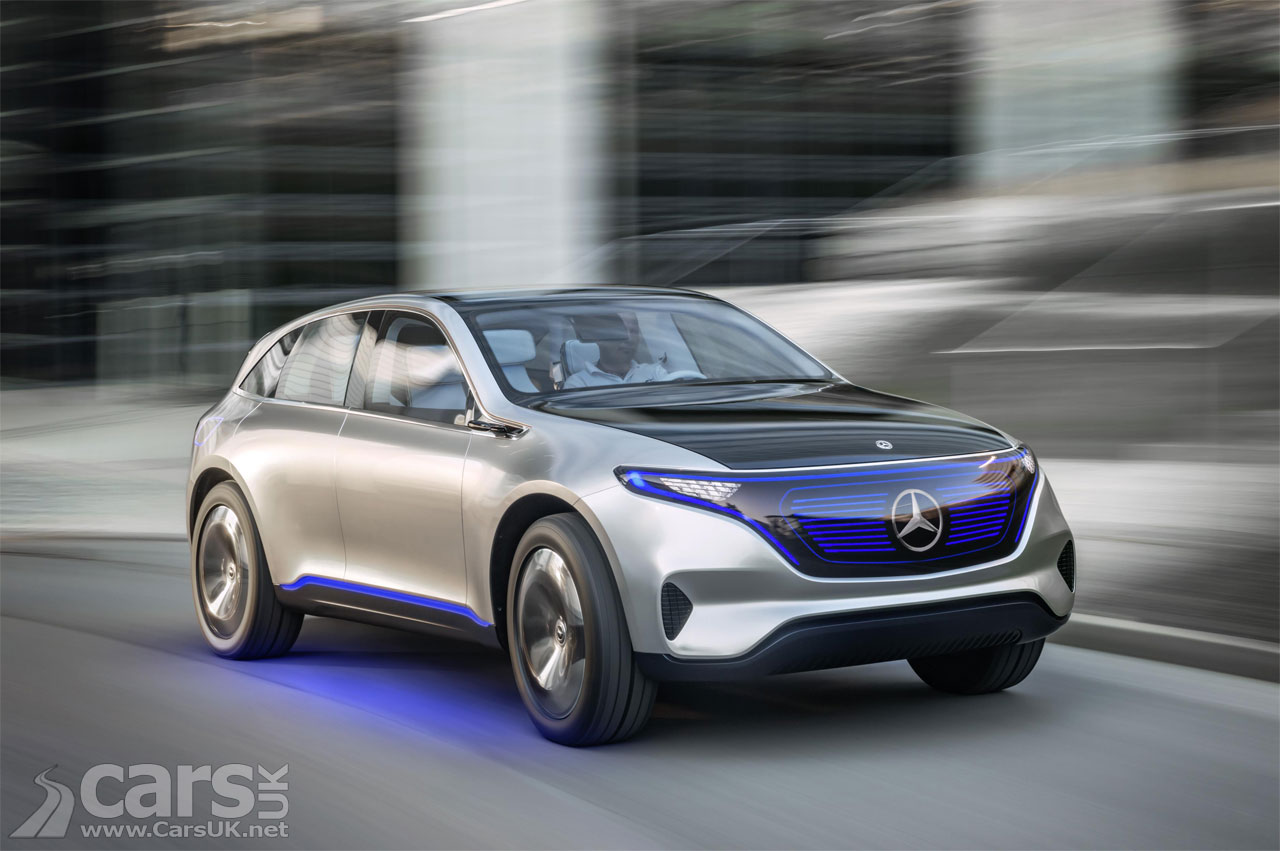 Mercedes-Benz Aims for an All-Electric Lineup by 2022
