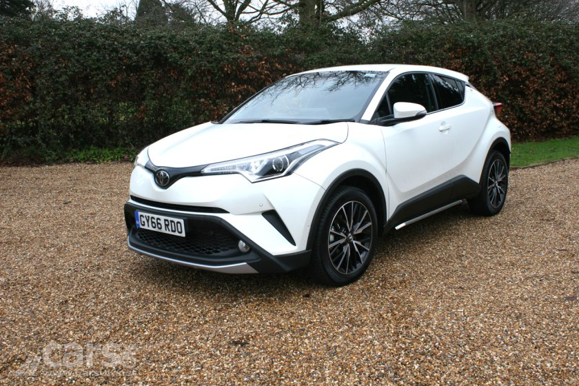 Toyota C-HR is the Parkers New Car of the Year
