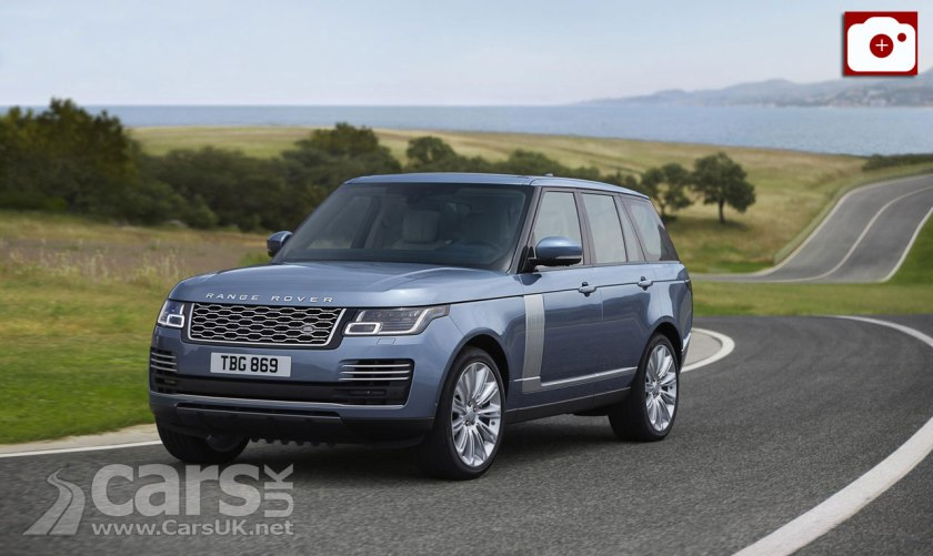 2018 Range Rover OFFICIALLY revealed including HYBRID
