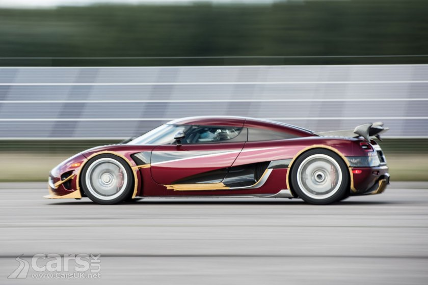 Koenigsegg Agera RS 5.5s quicker to 249mph and back than a Bugatti Chiron