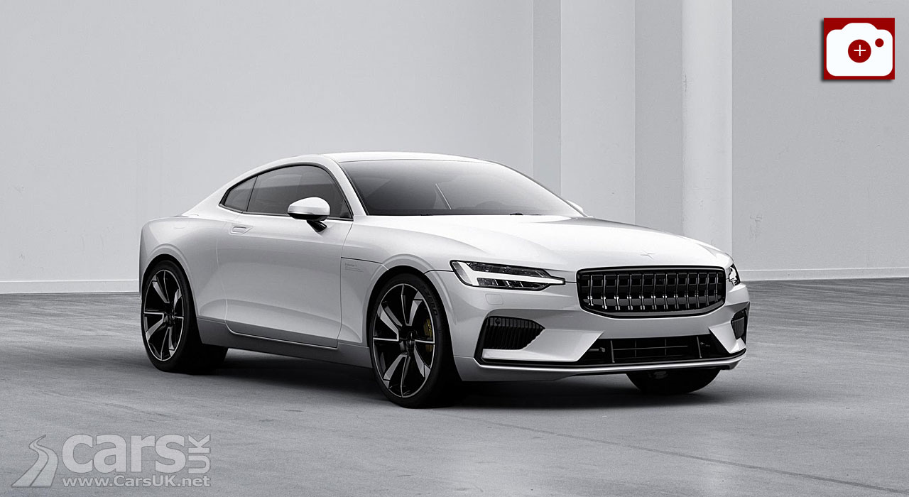 Volvo Polestar unveils its first vehicle  Polestar 1