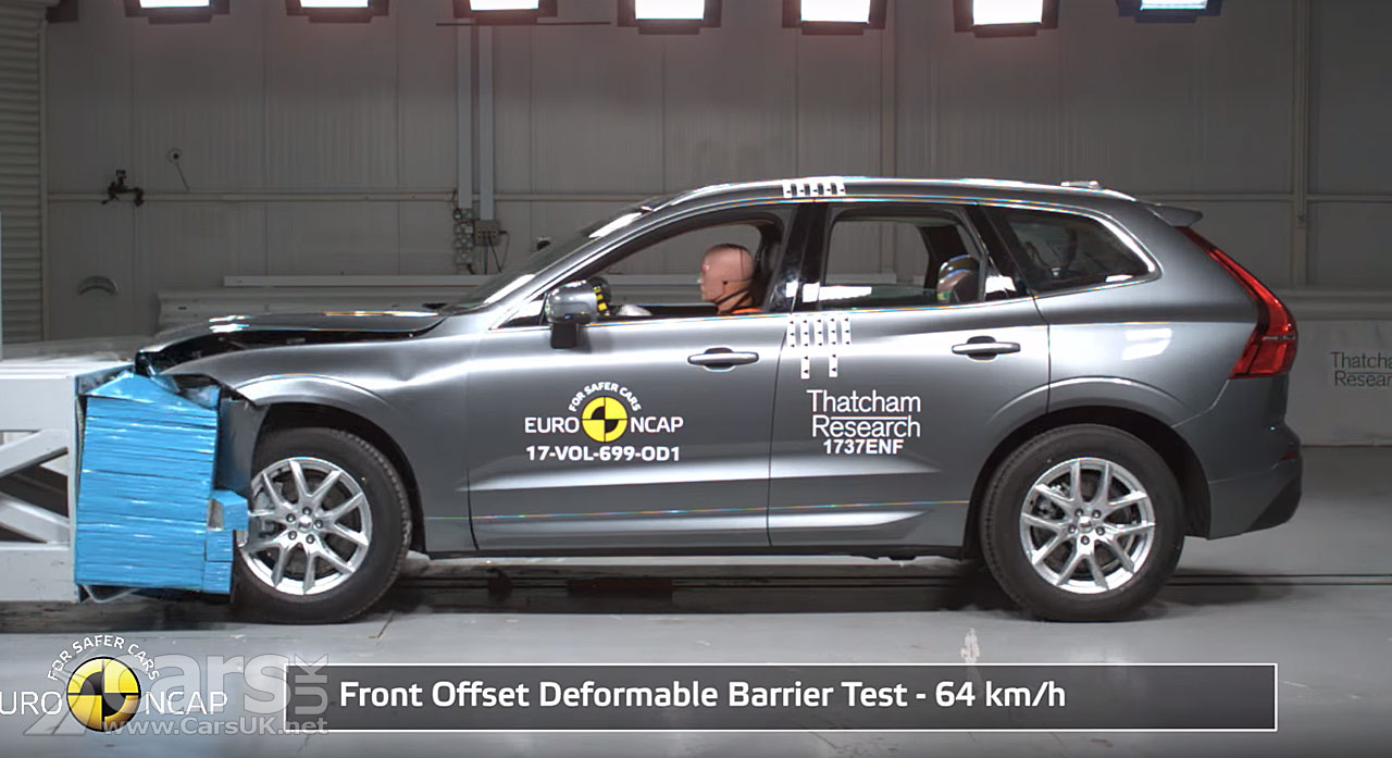 Five-star safety for Volvo's new XC60