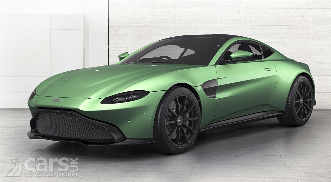Aston Martin Vantage GTE race vehicle revealed
