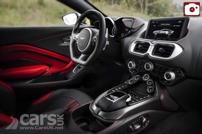 2018 Aston Martin V8 Vantage Interior