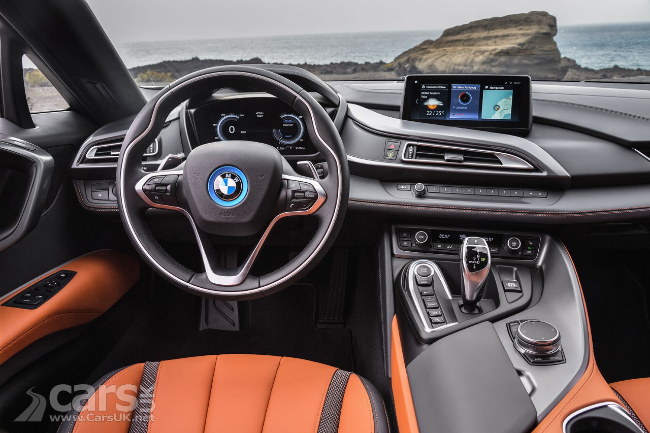 2018 BMW i8 Interior is only slightly updated