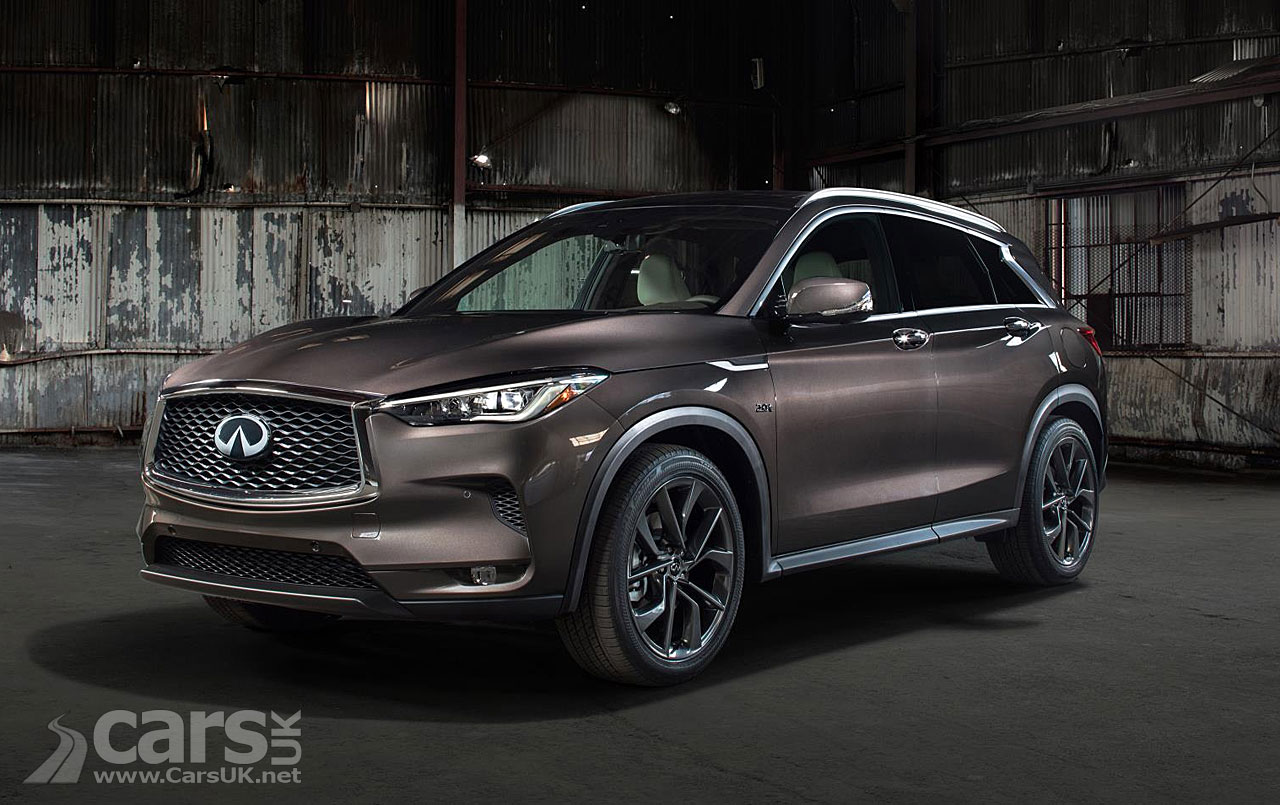New Infiniti QX50 to use world's first production variable compression ratio engine
