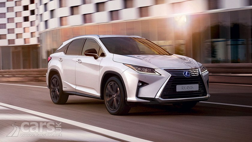 Lexus RX 450h Sport adds to Lexus UK RX range | Cars UK