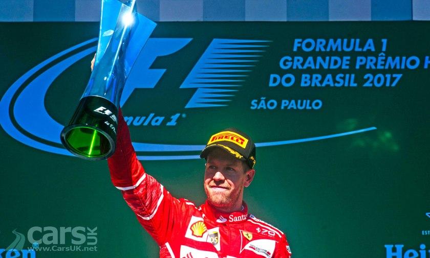 Sebastian Vettel WINS the 2017 Brazilian Grand Prix